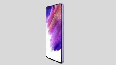 Samsung Galaxy S21 FE 3D renders