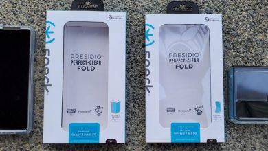 Speck Presidio Perfect Clear for Z Flip 3 and Fold 3: 13-foot drop protection for Samsung's newest