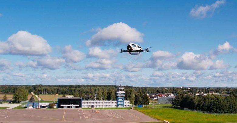 EHang BVLOS flights for airport transportation