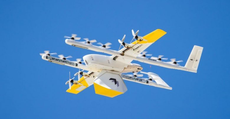 Delivery of wing drones: 100,000 deliveries
