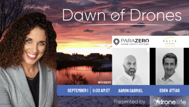 ParaZero and Delta Drone this week on Dawn of Drones