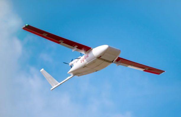 Zipline Medical Drone Delivery Commercial UAV Expo