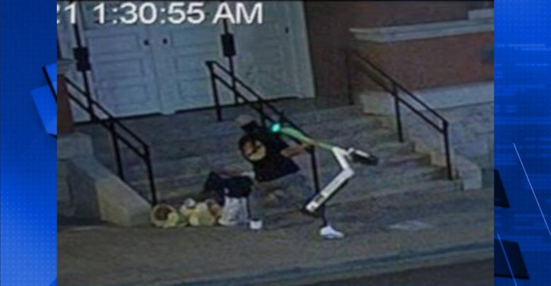 The police are trying to identify a person who attacked a homeless man on a scooter |  Davidson County
