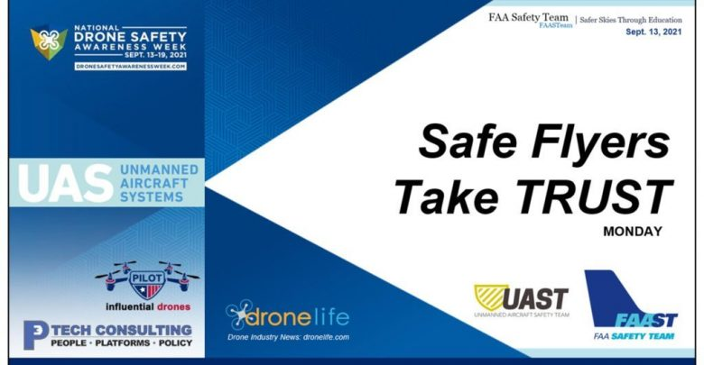 National Drone Safety Awareness Week: We're all there