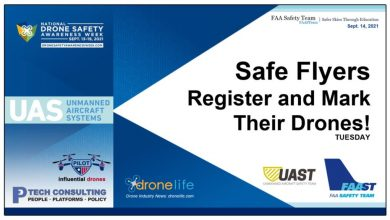 Register and tag your DSAW drones