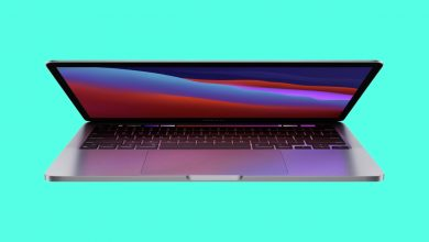 Macbook Pro Cyan