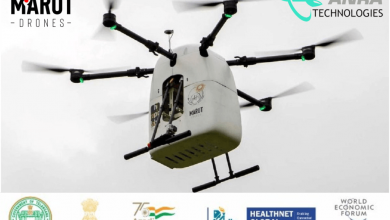 Medicine from the sky. Drone delivery in India