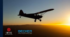 Collision avoidance: Iris Automation and Becker Avionics