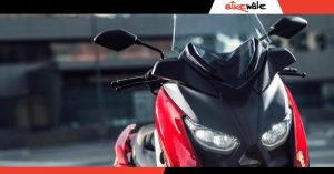 Yamaha India Teases New Maxi Scooter;  probably got R15 engine