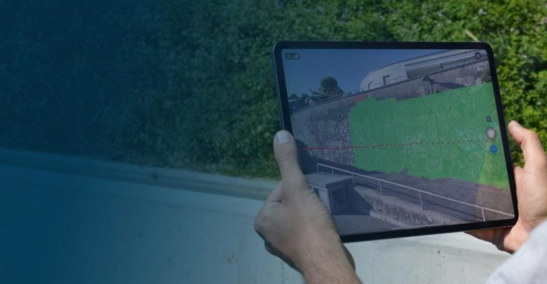 Pix4D terrestrial data acquisition hardware and software