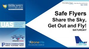Weekend Edition for the drone safety week