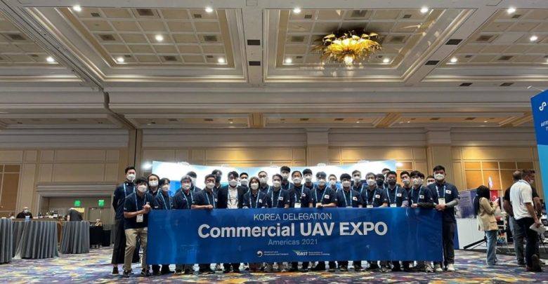Korean drones at the Commercial UAV Expo